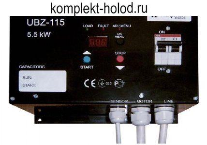 Блок защиты 1-фазного электродвигателя УБЗ-115