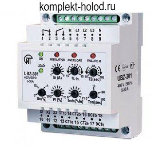 Блок защиты электродвигателя УБЗ-301 5-50 А