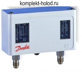 Реле давления (прессостат) KP15 HP/LP (сброс ручн/авто LP/HP) сигнал LP+HP, IP44