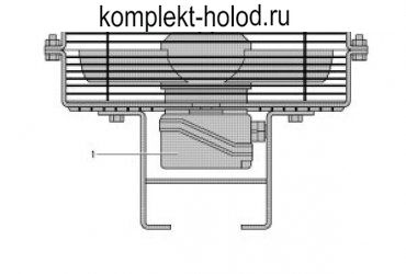 Вентилятор обдува головок цилиндров Bitzer (4FEC...4CES)