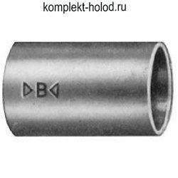 Муфта двухраструбная d. 18 mm