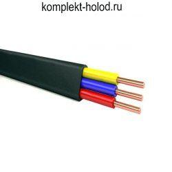 Провод ВВГнг(А)-LS 3 x 4,0 (ож) -0,66 кабель