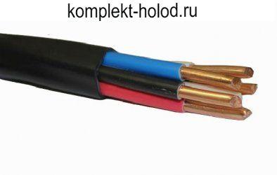 Провод ВВГнг(А)-LS 5 x 10 (ож) -0,66 кабель