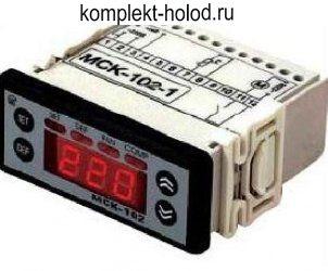 Контроллер МСК-102-1 (в комплекте с 1 датчиком NTC)