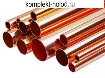 Труба медная неотожженная D 22 x 1,0 мм, отрезок 3 м, Halcor