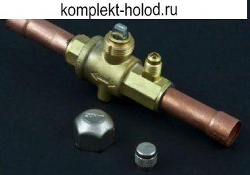 """BSA-4 запорный вентиль 1/4"""" с шредером"""