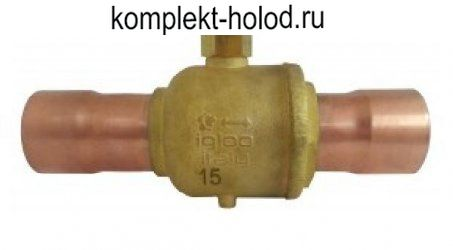 "BSS-50RR запорный вентиль 80 мм - 3.1/8"""