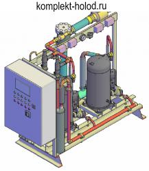 Низкотемпературный холодильный агрегат MTL-2.ZF 15